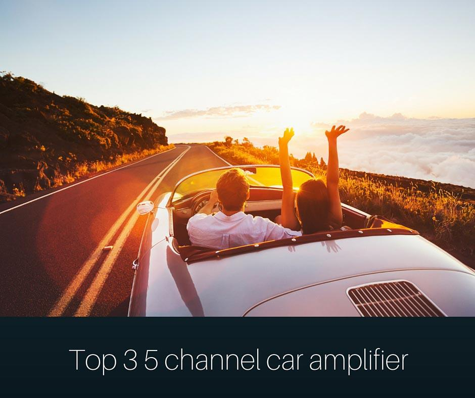 Top 3 5 channel car amplifier Reviews