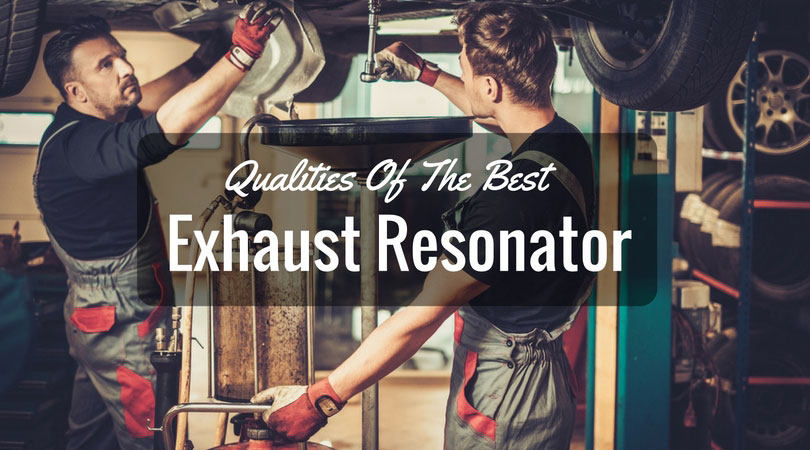 best exhaust resonator