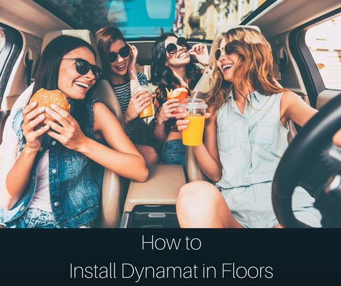 how-to install dynamat in floors