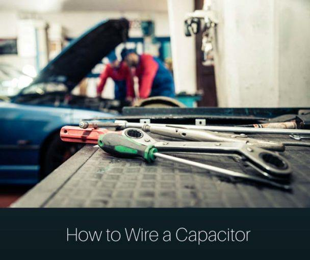 How to wire a capacitor