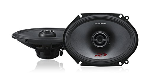 Alpine SPR-68 6x8 Coaxial 2-Way Type-R Speaker Set
