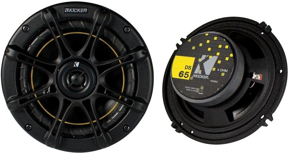 Kicker DS65 6.5 Coax Speakers (Pair)