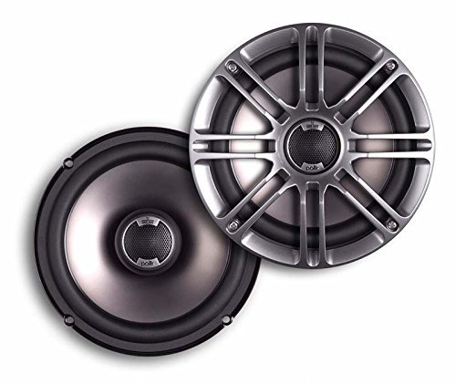Polk Audio DB651 6.56.75 2-Way Marine Certified db Series Car Speakers with Liquid Cooled Silk Tweeters