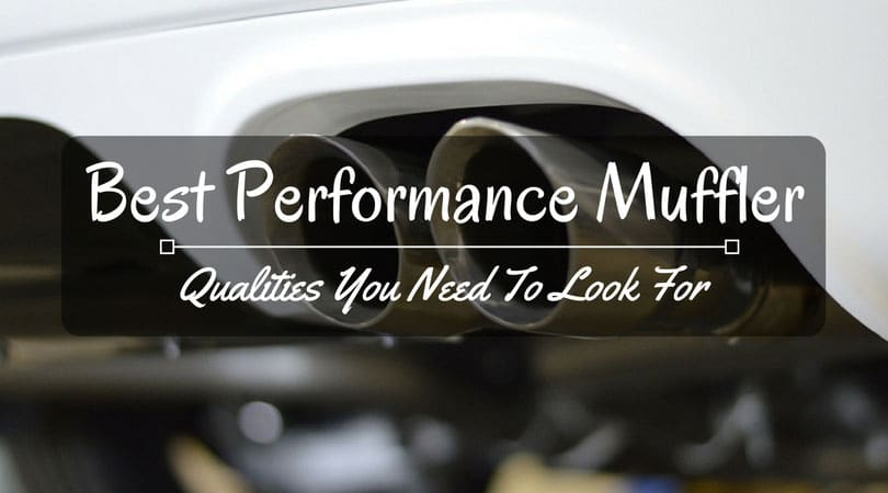 Best Performance Muffler