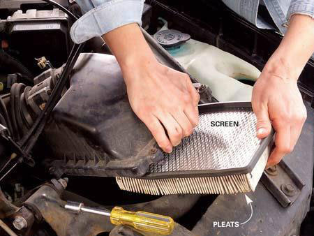 Check Your Car's Air Filter