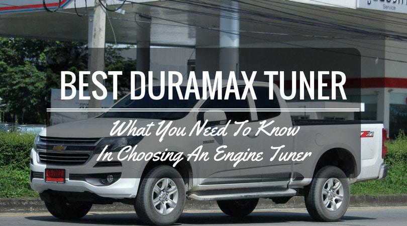 Best Duramax Tuner