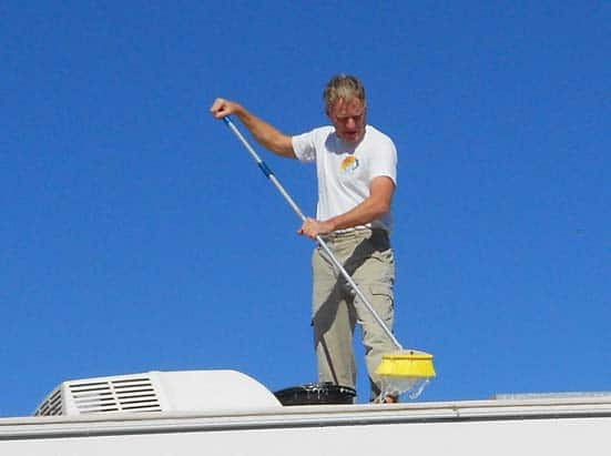 Clean RV Roof