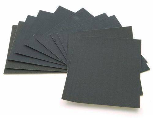 Multiple grain fine sand paper