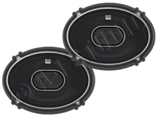 JBL GTO939 GTO Series 6x9 300W 3 Way Black Car Coaxial Audio Speakers Stereo