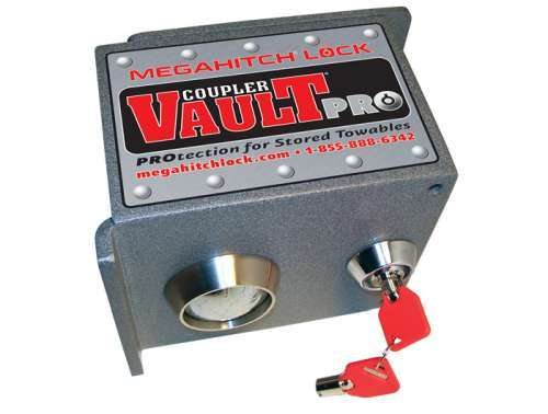 MegaHitch Lock Coupler Vault Pro best trailer coupler lock