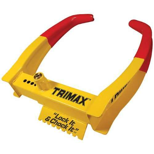 Trimax TCL65 Wheel Chock Lock best trailer wheel lock