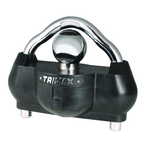 Trimax UMAX100 Premium Universal Solid Hardened Steel Trailer Lock best trailer ball lock