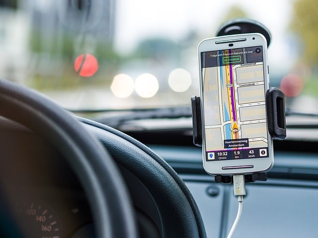 have a gps to drive safely