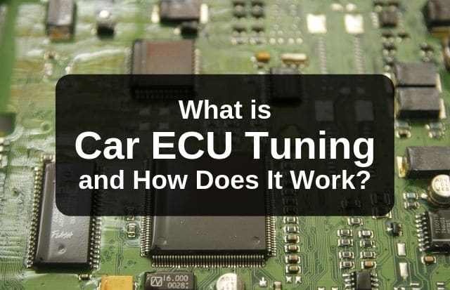 What Is Car ECU Tuning and How Does It Work?