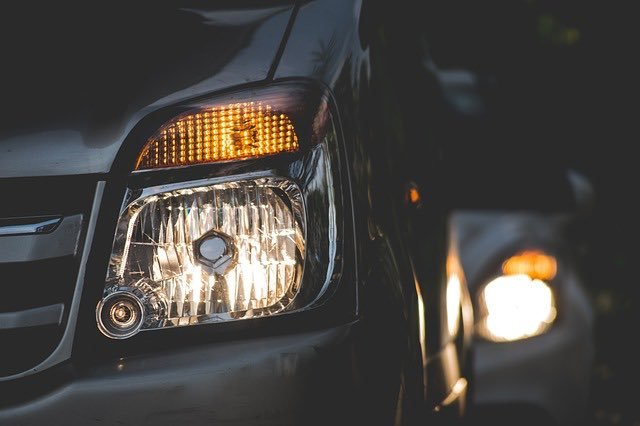 Check your headlights for a healthy battery
