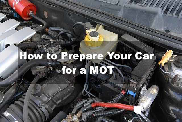 Preparing for an MOT test in 2019