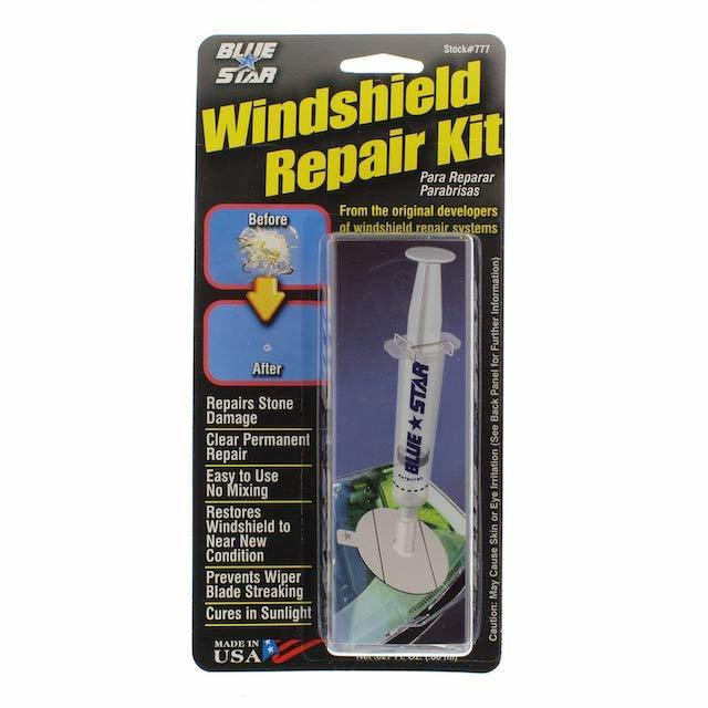 BlueStar Windshield Repair Kit