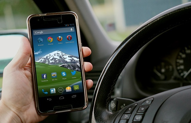 Pair your phone and car via Bluetooth