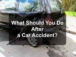 What happens after A car accident