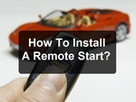 How To Install A Remote Start