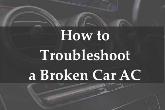 Troubleshoot car ac