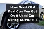 Car Deal Covid 19