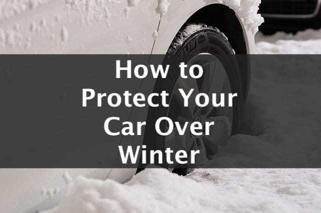 How to protect your car over winter