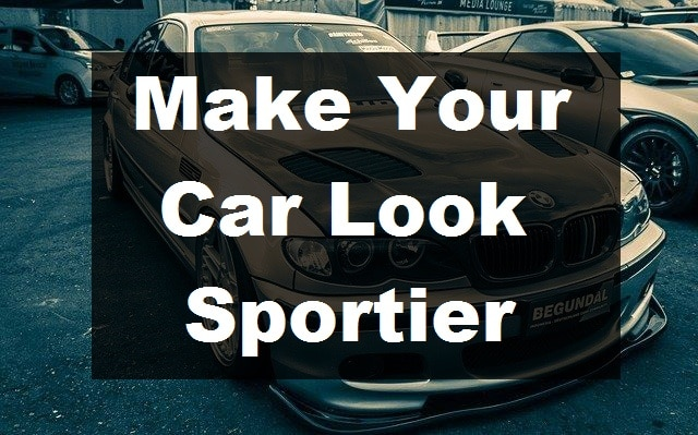 Make Your Car Sportier
