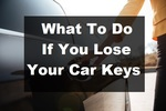 What to do if you lose your Car Keyss