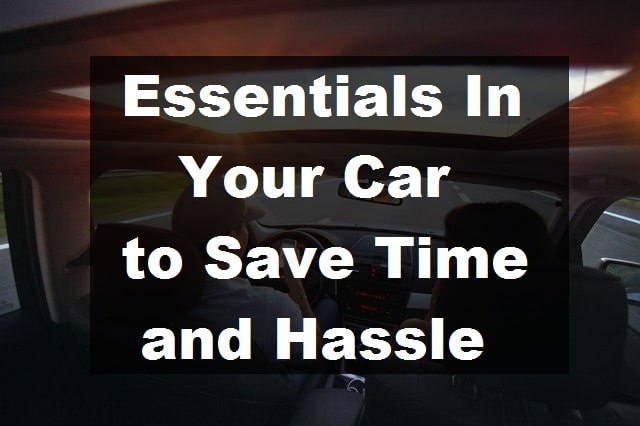 Essential in your car